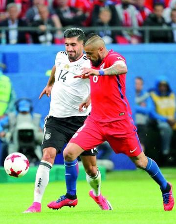 """Alemania y Chile  empatan y aplazan su pase a """"semis"""""""