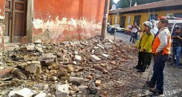 Fuerte sismo causa temor y deja daños en Guatemala