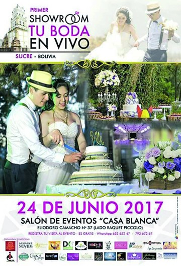 Showroom de bodas reúne esta jornada a  25 emprendimientos