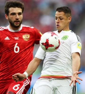 México gana a Rusia y pasa a semifinales de la Confederaciones