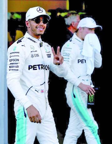 Hamilton saldrá primero en GP  de Azerbaiyán