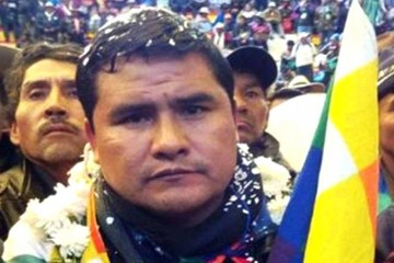 Jacinto Herrera es el nuevo ejecutivo de la Confederación de Campesinos de Bolivia