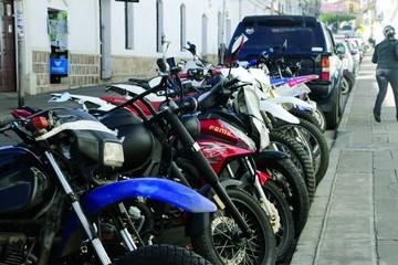 Motocicletas no ingresarán al centro histórico en Sucre