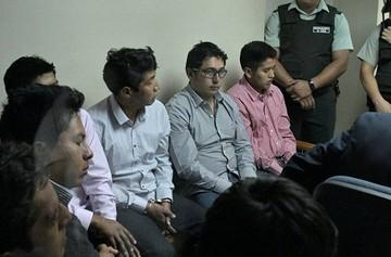 Los 9 bolivianos sentenciados en Chile llegarán a media mañana de este miércoles