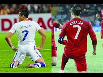 Chile contra Portugal, final adelantada de la Copa