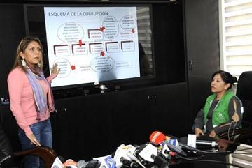 """Aprehenden a un ex gerente de """"Bolivia TV"""" por presunta corrupción"""
