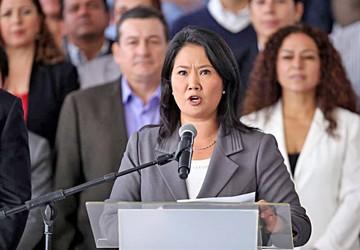 Fujimori declara por lavado de activos