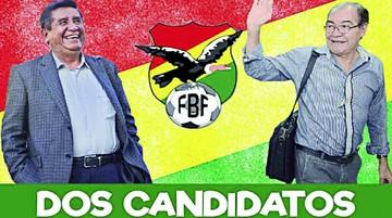 Dos candidatos a la FBF