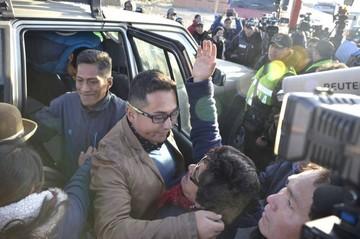 """Sucrense Diego Guzmán: """"El único delito que cometí fue el hecho de ser boliviano"""""""