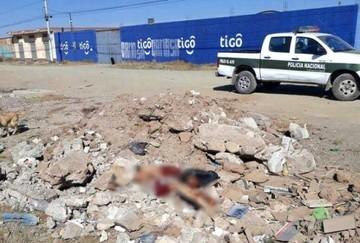 Hallan el cuerpo descuartizado de un hombre en la ciudad de El Alto