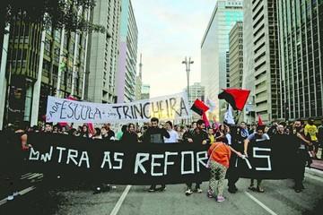 Protestas contra Temer no logran parar a Brasil
