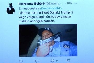 Gobierno denuncia amenazas de muerte al presidente Evo Morales