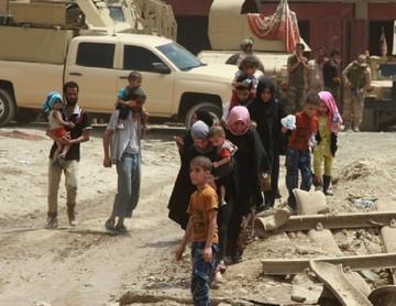Ejército de Irak acorrala al EI en ciudad de Mosul