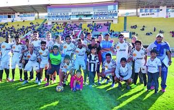 Atlético Sucre apunta a crecer en un futuro cercano