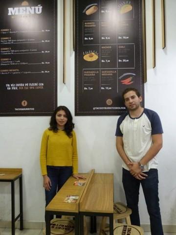 """""""Tacos & Burritos"""", novedosa propuesta de una joven pareja de emprendedores"""