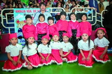 Festival de Danzas del Nivel Inicial