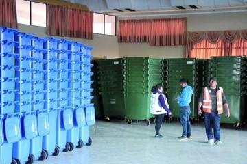 Llegan los contenedores de basura para la ciudad