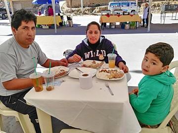 Feria promueve consumo  de trucha y emplea a chefs