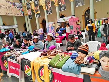 Habrá ferias mañaneras de textiles hechos en Sucre