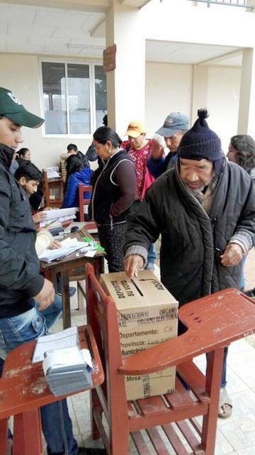 Macharetí opta por el Sí a la  autonomía y Huacaya dice No