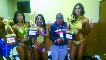 Culturistas de Sucre destacan en el Apertura Nacional
