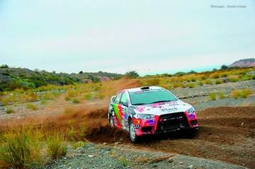 Pilotos nacionales celebran en Rally de Argentina