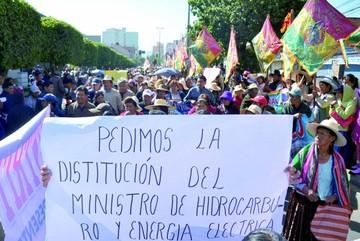 Más protestas rechazan el incremento tarifario
