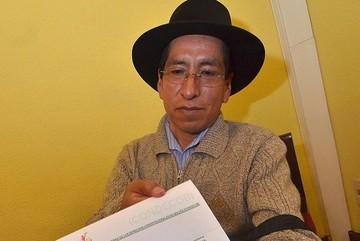 Gualberto Cusi apela a su sentencia ante la Asamblea Legislativa