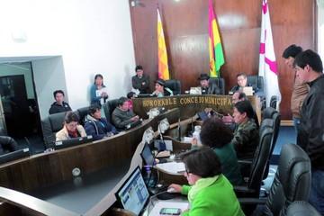 Concejo no avanza en el tratamiento de proyectos de ley