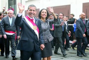 Piden detención de los esposos Humala en Perú