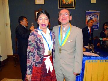 Actos de posesión del Rotary Club
