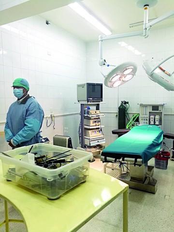 Cirugías laparoscópicas se realizarán en el IPTK