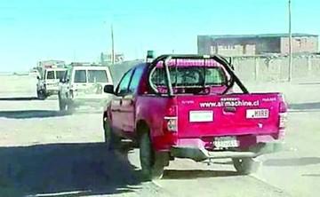 Fiscalía ordena devolución de camioneta robada en Chile y que era usada por la Policía
