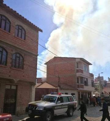 Fuga de gas provoca incendio en domicilio del centro capitalino