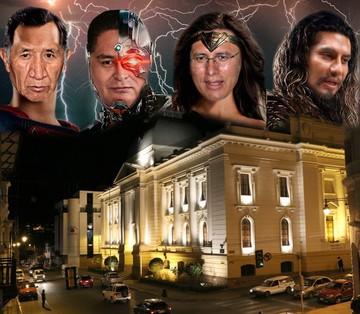 Superhéroes de Liga de la Injusticia  tutelan proceso de cambio de villanos