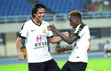 Marcelo Martins marca  en el triunfo de su equipo