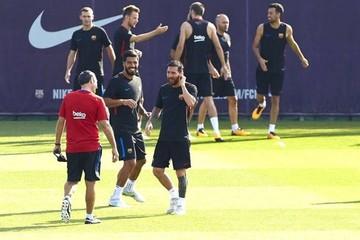 El Barça cierra la primera parte de la pretemporada e inicia viaje a América