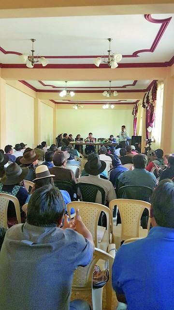Las mancomunidades del país se citan hoy en Yotala
