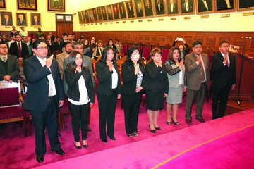 TSJ posesiona a vocales de tres distritos del país