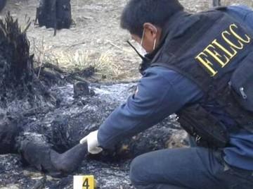Adolescente de 15 años mata a su padre e intenta hacer desaparecer el cuerpo prendiéndole fuego