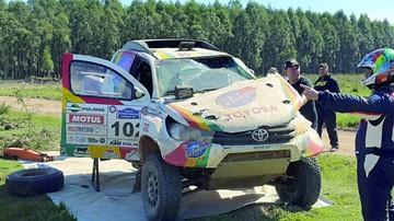 Gutiérrez sufre accidente