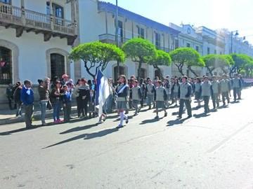 Colegio Mariscal Sucre celebra 31 años