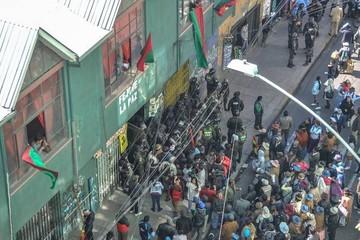 Disputa de los Vera deriva en toma de la sede de Fejuve de La Paz