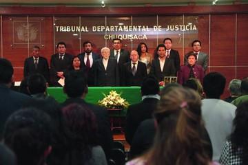 """Los jueces celebran su Día  en """"condiciones adversas"""""""