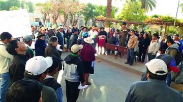 Se activan protestas en Camargo y Muyupampa