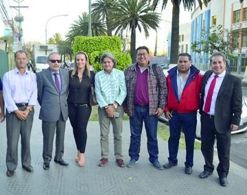 Desde Sucre apoyan candidatura de Loayza