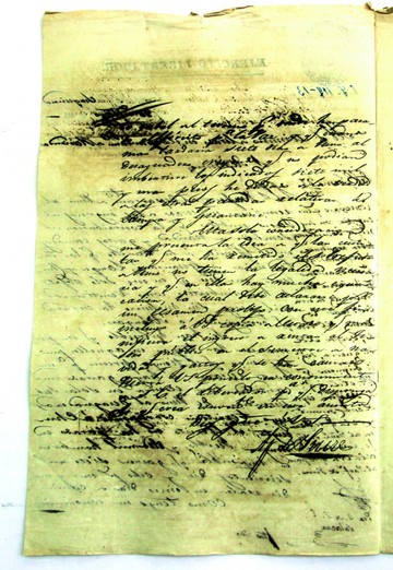 ¿Qué decían dos inéditas cartas de Sucre en 1825?