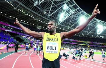Bolt corrió su último 100
