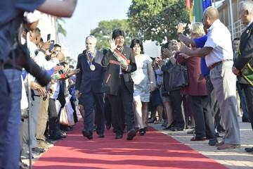 """Evo Morales saluda al país con """"esperanza en el futuro"""""""