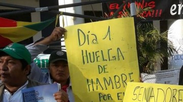 Instalan huelga de hambre en defensa del TIPNIS